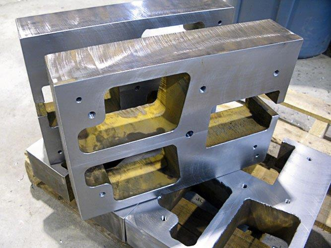 water jet large part